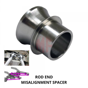 ROD END, MISALIGNMENT SPACER