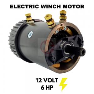 ELECTRIC WINCH MOTOR 12V 6.0HP, Warn , Superwinch