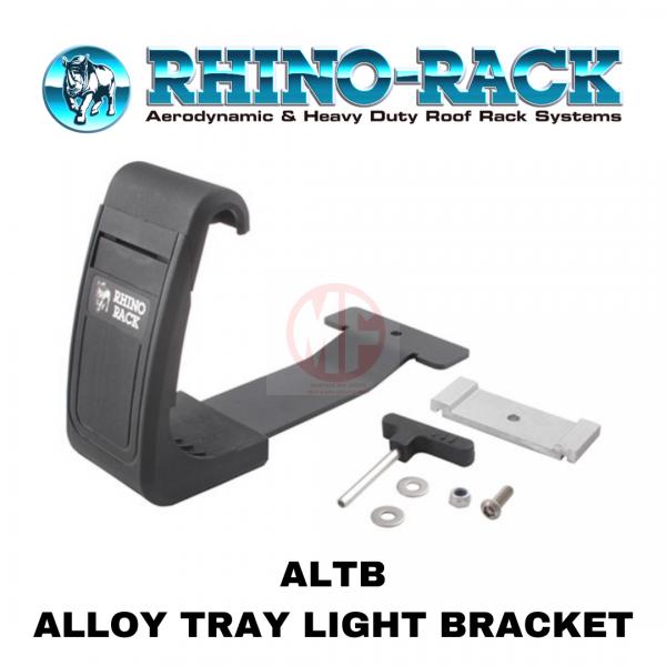 RHINO RACK LIGHT BRACKET ALTB, ALLOY TRAY LIGHT BRACKET,LED LIGHT BAR, SPOT LIGHT