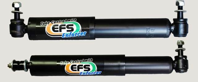 EFS 4X4 STEERING DAMPER, LAND ROVER DEFENDER
