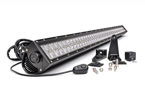 LED LIGHT BAR – DUAL ROW 240w 40″