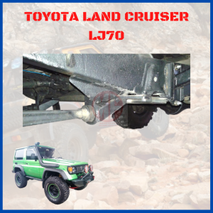 CASTER BRACKET, TOYOTA LAND CRUISER LJ70