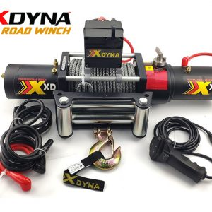 XDYNA ELECTRIC TWIN MOTOR WINCH 17000LBS