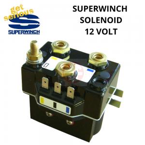 SUPERWINCH , ELECTRIC WINCH SOLENOID 12 VOLT