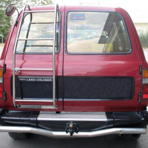 4×4 REAR LADDER, TOYOTA LAND CRUISER 80 SERIES (Left Right Door)