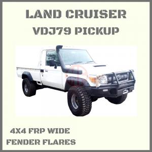 TOYOTA LAND CRUISER HZJ79 / VDJ79 PICK UP SERIES, WIDE FRP FENDER FLARES