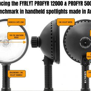 PROFYR 5000 HANDHELD SEARCHLIGHT