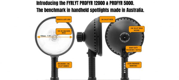 PROFYR 5000 HANDHELD SEARCHLIGHT