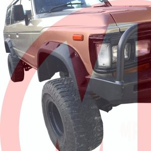 TOYOTA LAND CRUISER FJ60 & BJ60 SERIES, WIDE FRP FENDER FLARES