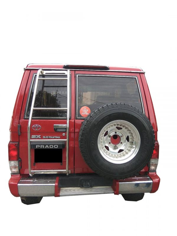 4×4 REAR LADDER, TOYOTA LAND CRUISER 70 SERIES