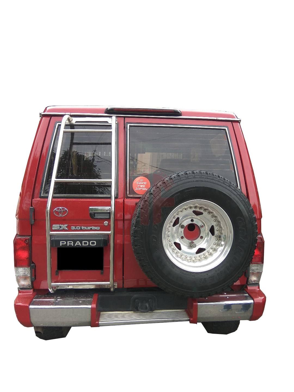 Toyota Land Cruiser 70 >> 4x4 Rear Ladder Toyota Land Cruiser 70 Series Maefare 4x4 Centre