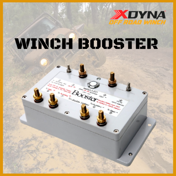 Electric Winch Booster 24 Volt (accelerate winch)