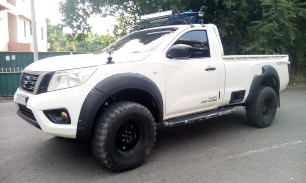 NISSAN NAVARA NP300 PICK UP 2 DOOR, WIDE FRP FENDER FLARES