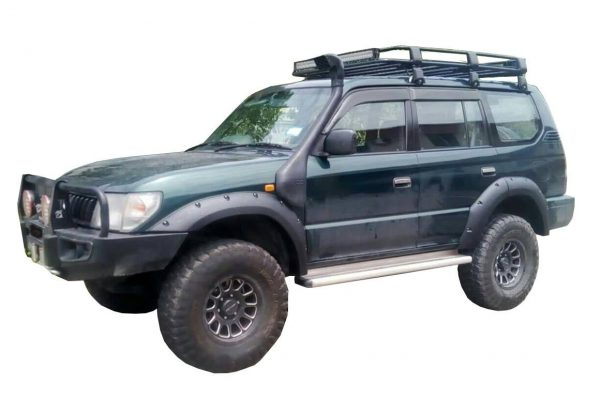 TOYOTA LAND CRUISER PRADO 90 SERIES, 4 DOOR, WIDE FRP FENDER FLARES