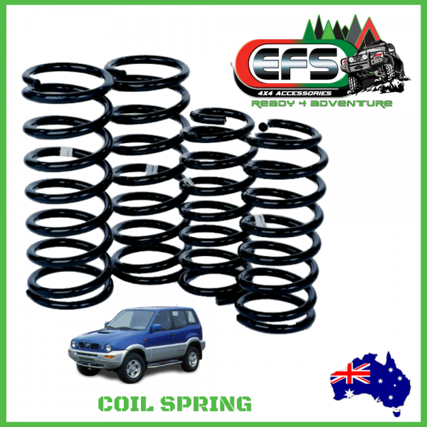 EFS 4X4 COIL SPRING, NISSAN TERRANO 2 / MISTRAL, REAR