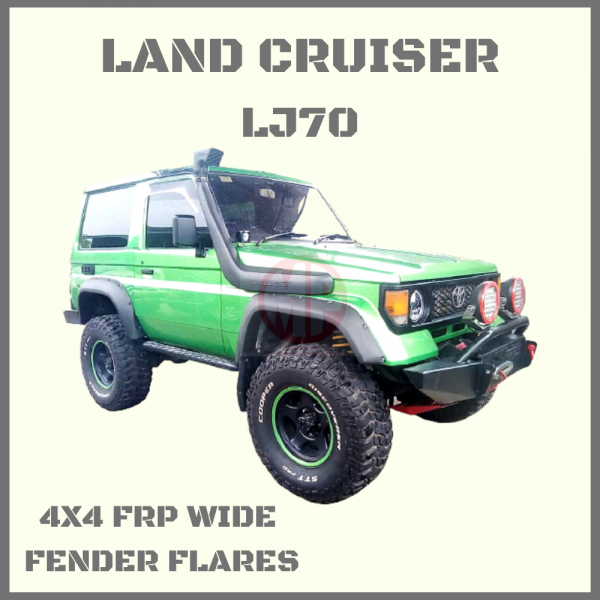 TOYOTA LAND CRUISER LJ70 SERIES, WIDE FRP FENDER FLARES