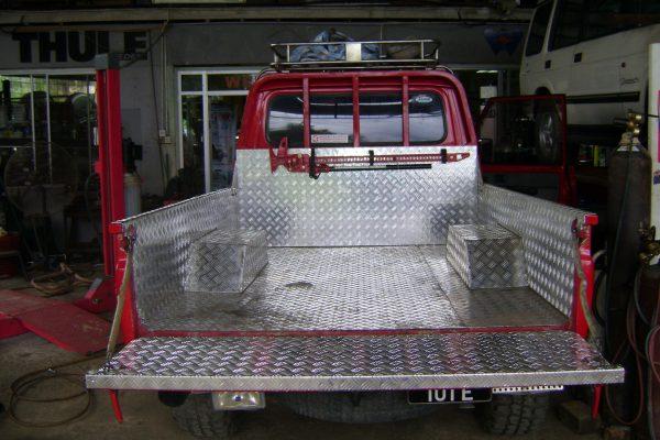Aluminium Cargo Bedliner