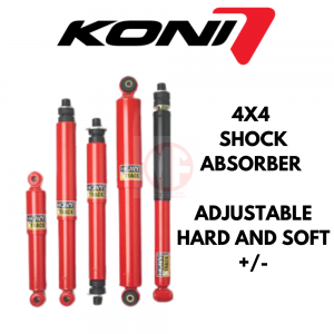 KONI 4X4 ABSORBER ADJUSTABLE HARD AND SOFT , MITSUBISHI TRITON – REAR