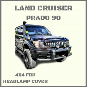 Prado 95 Series Headlamp Cover Conversion To Round Type 7″