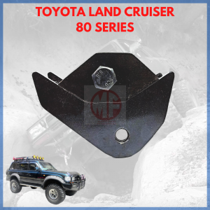 CASTER BRACKET + OFFSET 1″ TO FRONT, LAND CRUISER 80 SERIES