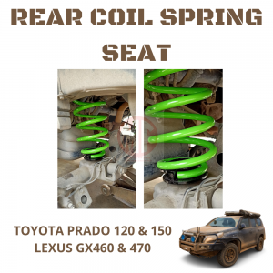 Toyota Prado 120 & 150 Series, Lexus GX460 & GX470 Rear Airbag To Coil Conversion Kit