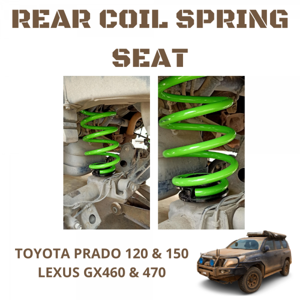 Toyota Prado 120 & 150 Series, Lexus GX460 & GX470 Rear Airbag To Coil Conversion Kit