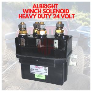 ALBRIGHT ELECTRIC WINCH SOLENOID 24 Volt